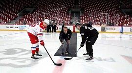 Алексей Текслер дал напутствие хоккеистам на открытии Кубка губернатора