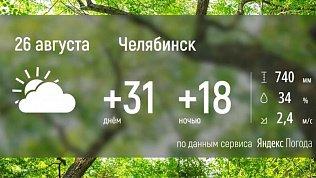 В Челябинской области наступает долгожданное похолодание