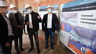 Алексей Текслер проинспектировал строительство нового образовательного центра вмикрорайоне Миасса