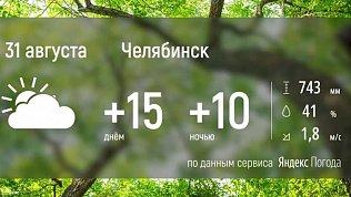 На Южном Урале сохранится осенняя погода