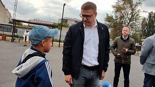 Алексей Текслер рассказал ребенку из Еманжелинска, зачем нужно учиться