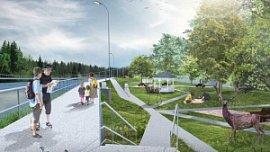 На благоустройство парков в Аше и Трехгорном направят более 200 млн рублей