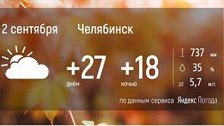 На Южный Урал возвращается летняя погода