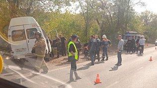 В Карталах вДТП савтобусом пострадали семь человек