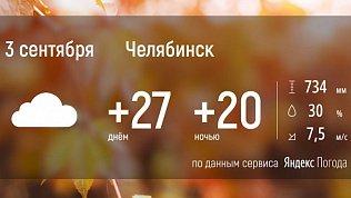 В Челябинской области продолжается летняя погода
