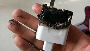 В Магнитогорске сгорела квартира из‑завключенного всеть зарядного устройства