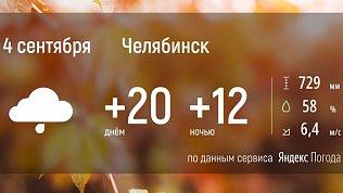 На Южный Урал возвращается осень