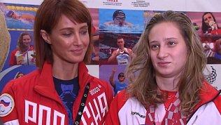 В Челябинске встретили спортсменов вернувшихся из Токио