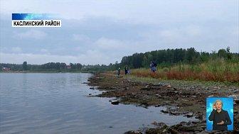 Активисты убрали берег озера Аракуль