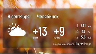 На Южном Урале сохраняется осенняя погода
