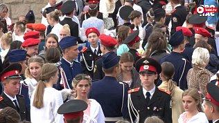 Видео кадетского бала в Челябинске транслировали в прямом эфире