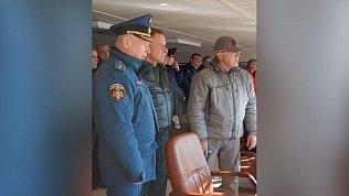 Опубликовали последние кадры с погибшим на учениях главой МЧС Евгением Зиничевым