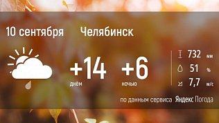 В Челябинской области погода вновь испортится