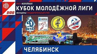 Предварительный этап Кубка молодежной лиги по волейболу среди женских команд