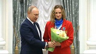 Владимир Путин вручил государственные награды победителям ХVI Паралимпийских летних игр в Токио