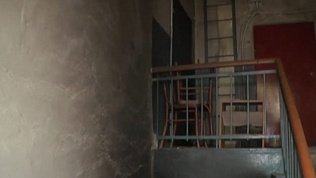 Последствия взрыва газового баллона в Магнитогорске попали в объектив камеры