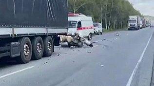 Мотоциклист попал в смертельное ДТП на трассе возле Миасса