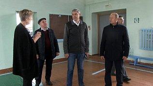 Григорий Тонких проверил благоустройство с. Черновское