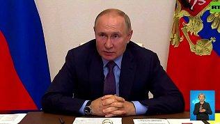 Владимир Путин контактировал с заболевшим