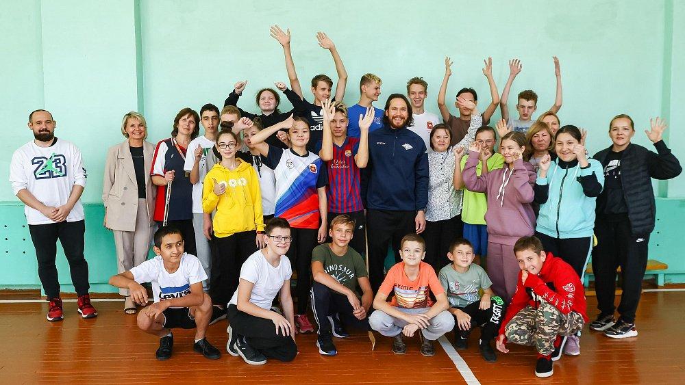 Воспитанники магнитогорской школы-интерната бесплатно посетят хоккейный матч «Металлурга»