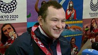 В Челябинске встретили призеров Паралимпийских игр в Токио