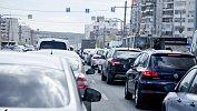 В Челябинске наблюдаются пробки ввосемь баллов