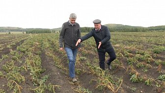 Григорий Тонких посетил с. Черновское