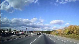 ДТП на трассе в районе Синеглазово зафиксировал видеорегистратор
