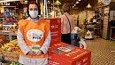 В челябинских магазинах «Пятерочка» собирают продукты длямалоимущих