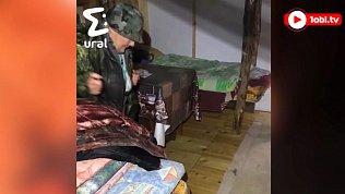 Спасение пожилой женщины из болота попало на видео