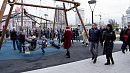 В Челябинске торжественно открыли Арт-сквер на набережной Миасса