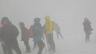 Первый снег в Челябинской области попал на записи видеокамер