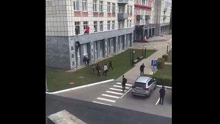 В Перми молодой человек открыл стрельбу вуниверситете