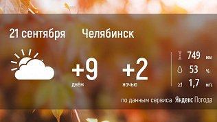 На Южном Урале погода станет еще холоднее