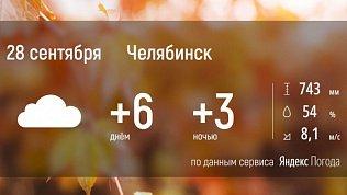 В Челябинской области пойдет снег и дождь