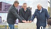 Алексей Текслер заложил первый камень воснование ледовой арены вАше