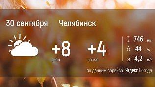 В Челябинской области станет чуть холоднее