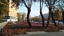 В центре Челябинска благоустраивают новый сквер
