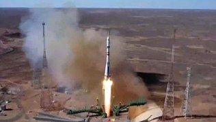 На МКС отправилась первая в мире российская съемочная группа