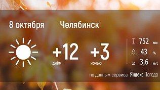 В Челябинской области будет солнечная погода