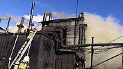 Челябинские пожарные ликвидировали открытое горение на складе ЧЭМК