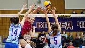 Волейбольный клуб «Динамо-Метар» уступил впервом домашнем матче сезона «Ленинградке»