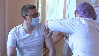 Алексей Текслер прокомментировал введение обязательной вакцинации от коронавируса в регионе