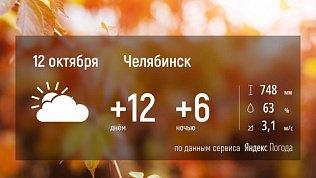 В Челябинской области ожидается теплая облачная погода