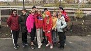 В Челябинске спортсмены посадили даурские лиственницы, наочереди— каштаны