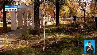 Школьники высадили именные деревья