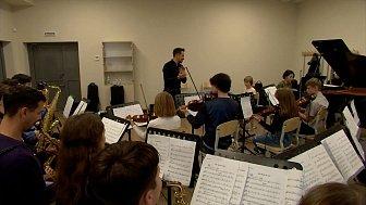 Музыканты будущего в сюжете «Детский эстрадно-джазовый оркестр»