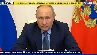 Владимир Путин поддержал идею объявления нерабочих дней
