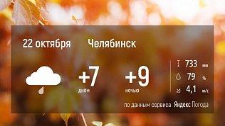 Мокрый снег остается в Челябинской области минимум еще на день