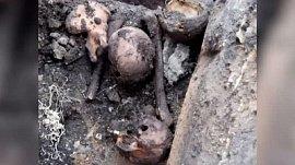 Жительница поселка Шершни обнаружила в земле человеческие останки